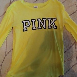 Neon Green/Yellow PINK longsleeve